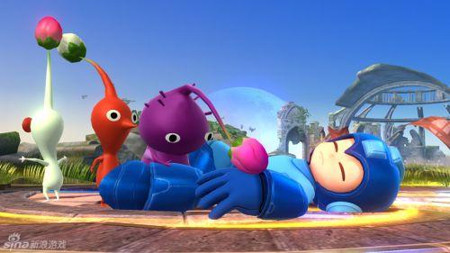 《任天堂全明星大乱斗》WiiU版画面