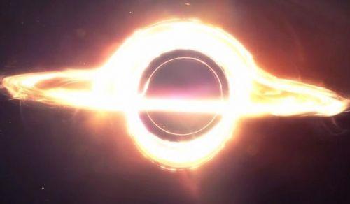 该黑洞边缘的自转线速度为29