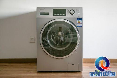 海信滚筒洗衣机美图