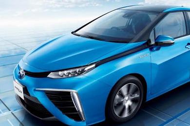 丰田研制出只烧空气排水的环保汽车Miral