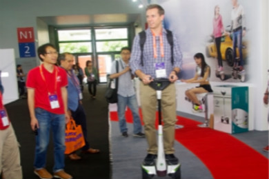 时尚智能代步:I-ROBOT闪耀CES