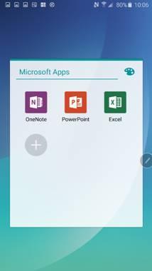 说明: C:\Users\user\Desktop\图片\三星Galaxy Note5内置了PowerPoint、Excel、Word等常用的Office办公软件.png