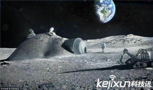 它们以Z字形的运行轨迹快速穿过月球表面