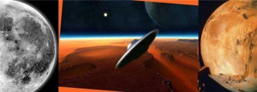 月球竟是外星人太空船