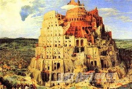 手绘建筑爆炸图