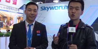 AWE2016 驱动中国走访创维展台