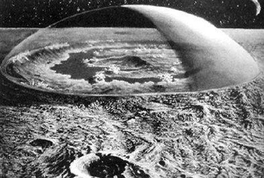 月球背面惊现二战飞机 外星人就在月球背面(9)
