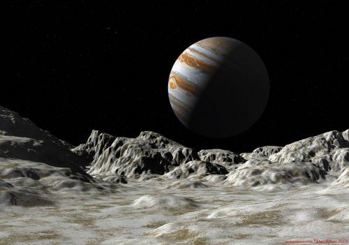 木卫二上的液态水有一定的盐度