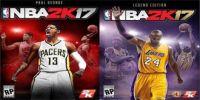 《NBA 2K17》9月20日发售 封面豪华阵容科比+保罗