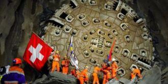 世界最长火车隧道瑞士正式开放:被视作工程技术伟大胜利