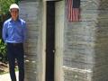 美国一学生3D打印出人生第一座小屋