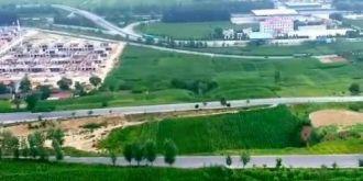 航拍:甘肃平凉农村夏季风貌之白水