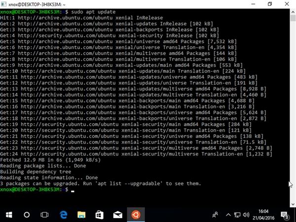 相杀更相爱:Ubuntu赫然进驻Windows 10商店