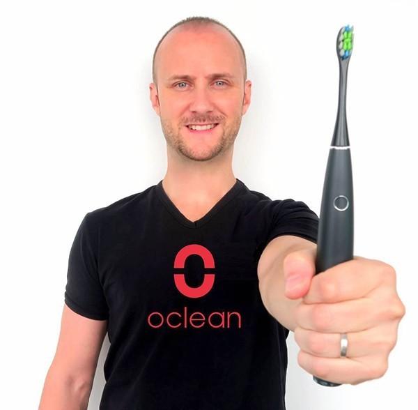 几十项黑科技!Oclean智能电动牙刷海外众筹受追捧