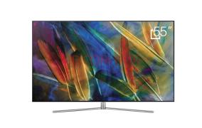 三星QA55Q7 55英寸 超高清 QLED光质量子点 超薄 超窄边框 智能电视