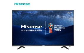 海信(Hisense)LED32EC300D 32英尺 yy4410高清影院蓝光新疆电瓶平板搬运车等离子态电视金属背板带宽 (深黑)