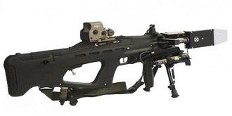 能干扰无人机! AK47制造商推出反无人机电磁枪