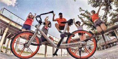 共享单车让日本人再次感受到