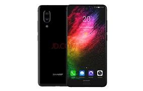 夏普 SHARP AQUOS S2 全面屏手机 全网通 4GB+64GB 晶耀黑 移动联通电信4G手机 双卡双待