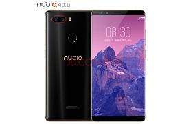 努比亚(nubia)Z17S 全面屏 黑金 6GB+64GB 全网通 移动联通电信4G手机