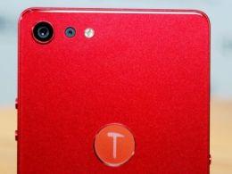 锤子首款全面屏手机:坚果Pro2酒红色版图赏