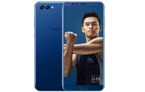 荣耀英文 V10全网营销通 标配版 4GB+64GB 极光蓝 两手屏手机