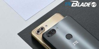 中兴发布Blade V9/Vita手机:骁龙450/435处理器,179欧元起