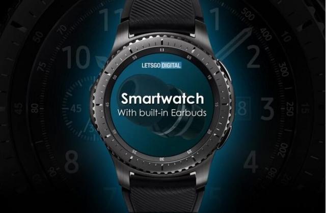 华为获批手表专利 或可放置耳机独家