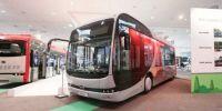 """巴士行业智能""""新物种""""比亚迪在德国发布中国首款""""模块化""""电动巴士"""