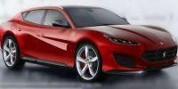 法拉利首款SUV车型谍照曝光 或将于2022年发布