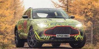 阿斯顿马丁首款SUV定名DBX  预计2020年上市