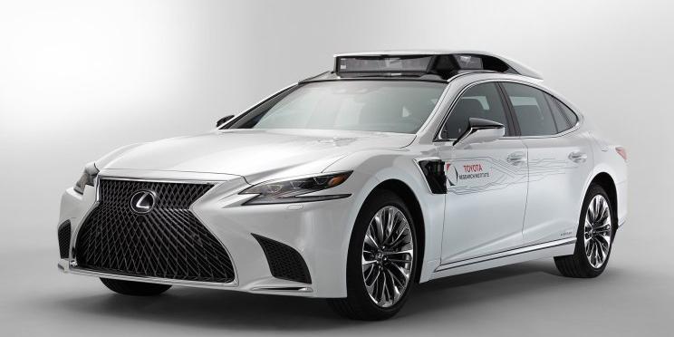 CES 2019:丰田发布自动驾驶原型车官图 新车将于CES展会正式亮相