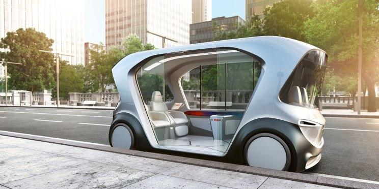 CES 2019:博世未来巴士概念车亮相
