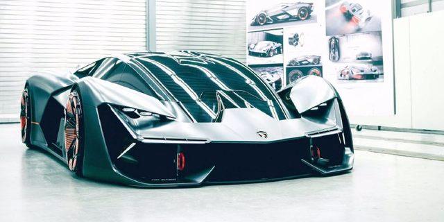 当前法规下的合理选择 兰博基尼将于法兰克福车展推出混动旗舰超跑