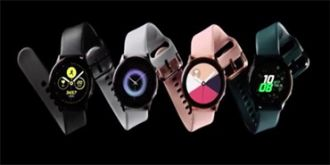 三星正式发布Galaxy Watch Active智能手表,还有Galaxy Fit智能手环
