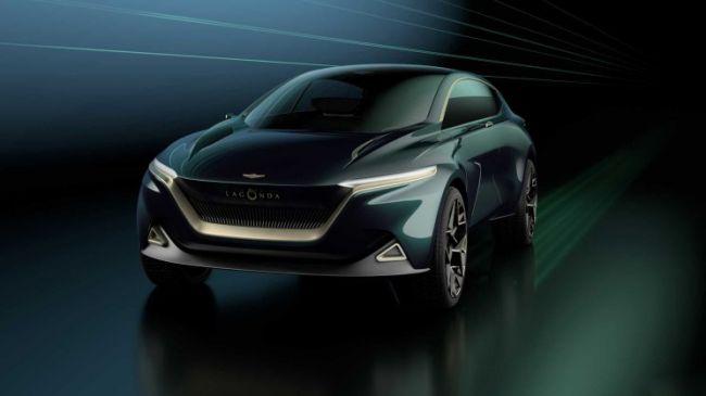 阿斯顿马丁拉共达推概念SUV  All-Terrain Concept
