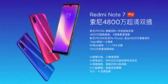 Redmi品牌独立小金刚Pro崭露头角  1599元!Redmi Note7Pro正式发布