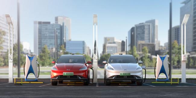 小鹏汽车超充站投入运营 充电功率最高可达120KW