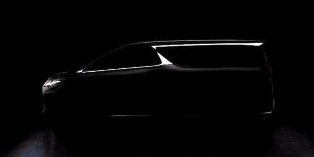上海车展|雷克萨斯发布LM车型预告图
