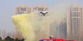 猎鹰100无人机灭火装备研发成功,六月底推出首台设备