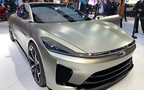 2019上海车展:天际概念车ME-S正式亮相