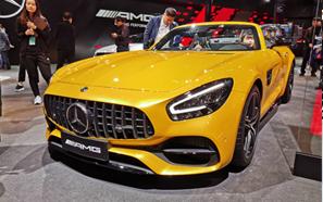 2019上海车展:梅赛德斯-奔驰全新AMG GTC亮相