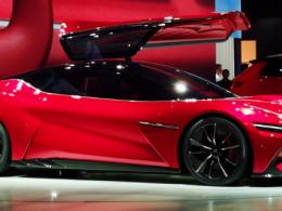 2019上海车展:比亚迪发布汉E-SEED GT 概念车 外观惊艳(多图)