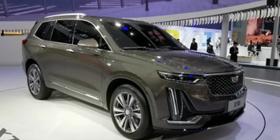 剑指奥迪Q7  凯迪拉克全新XT6亮相上海车展
