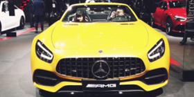 分分时时彩计划带您看2019上海车展奔驰AMG展台