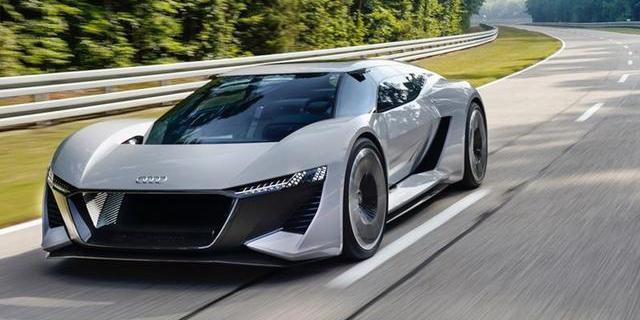 R8的继任者?奥迪计划推纯电超跑e-tron GTR