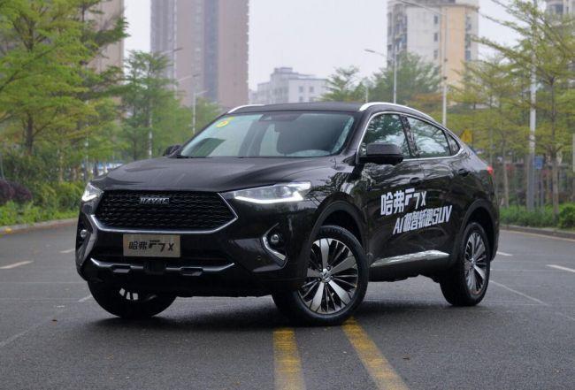 溜背式SUV新成员 哈弗F7x极智科技版本月27日上市