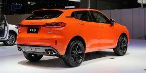 WEY VV5 1.5T倾橙版预售价14.38万
