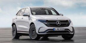 奔驰EQC海外版在德国工厂下线  国产版也将在年底交付