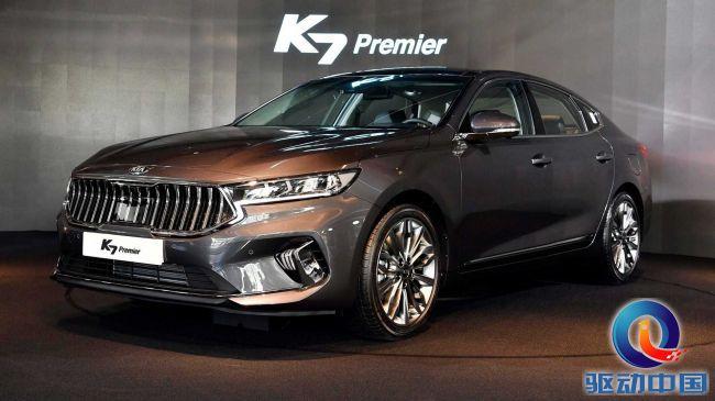 起亚新款K7实车正式亮相 凯尊能否卷土重来?